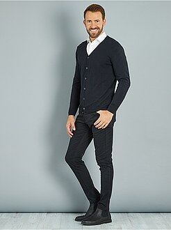 Pantaloni - Pantaloni skinny twill di cotone stretch