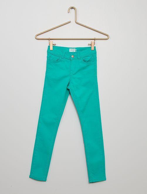 Pantaloni skinny                                                                                                                                                                             VERDE