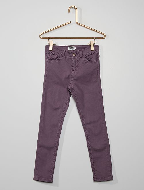 Pantaloni skinny                                                                                                                 viola grigio