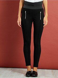 Donna dalla 38 alla 52 Pantaloni skinny vita alta maglia Milano