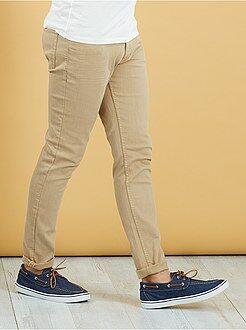Pantaloni - Pantaloni slim 5 tasche cotone stretch