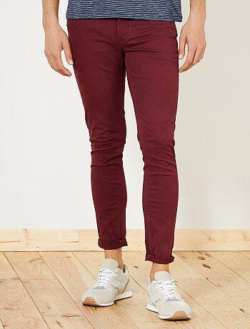 Pantaloni slim 5 tasche twill - Kiabi