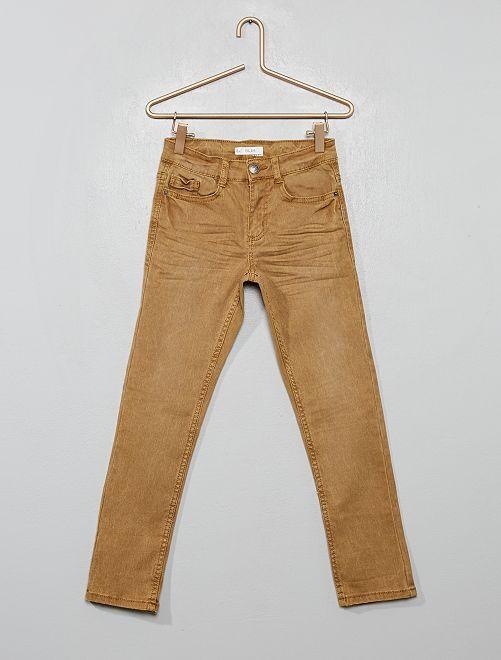 Pantaloni slim                                                                                                                                                                                         BEIGE