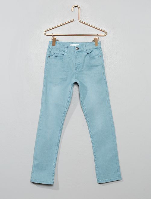 Pantaloni slim                                                                                                                                         blu cenere