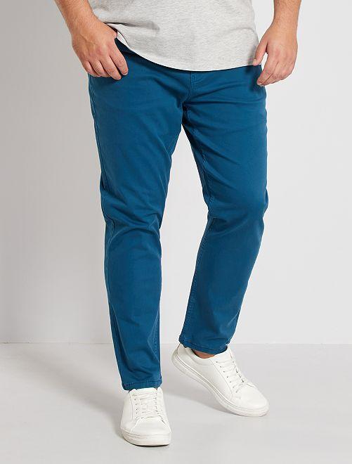 Pantaloni slim                                                     blu