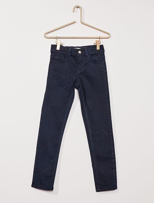 Pantaloni slim colorati                                                                                         blu