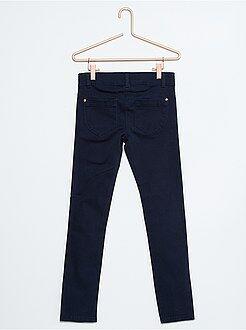 Pantaloni slim cotone 5 tasche