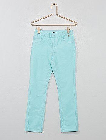 c446b4dca332ac Pantaloni slim cotone stretch - Kiabi