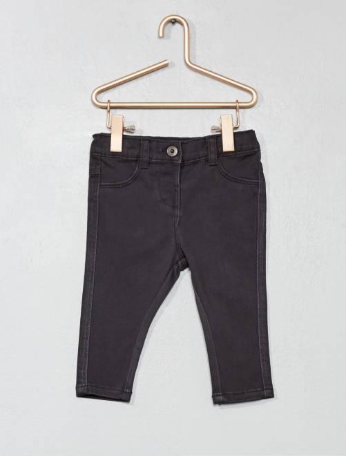 Pantaloni slim                                                                 grigio scuro Neonata