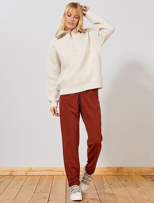 Pantaloni slim 'JDY'                             ARANCIONE