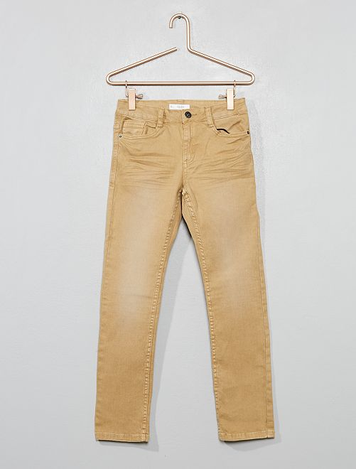 Pantaloni slim                                                                                                                                         MARRONE Infanzia bambino