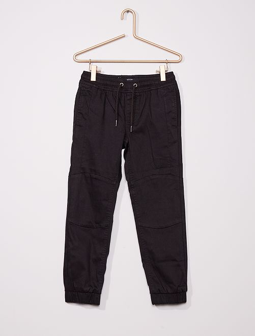 Pantaloni slim                                                     nero