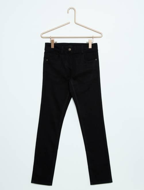 Pantaloni slim                                                                                                                                         nero Infanzia bambina