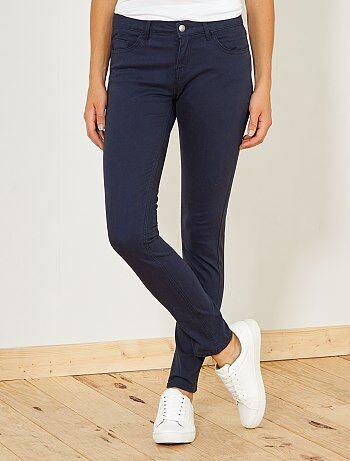 Pantaloni slim stretch 5 tasche - Kiabi