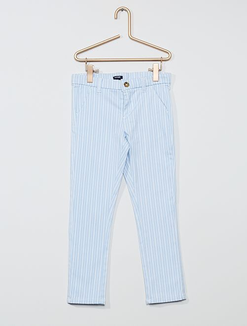 Pantaloni slim stretch                                                                 BLU
