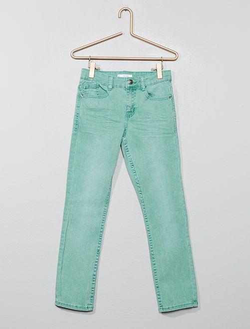 Pantaloni slim                                                                                                                                                                                         verde grigio