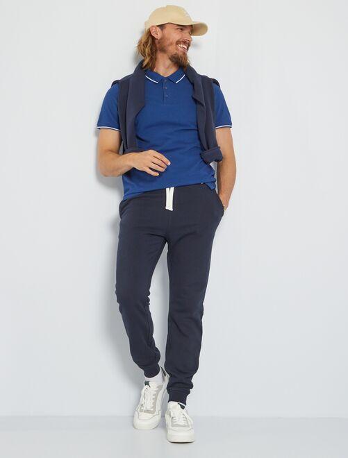 Pantaloni sport felpati                                                                 BLU