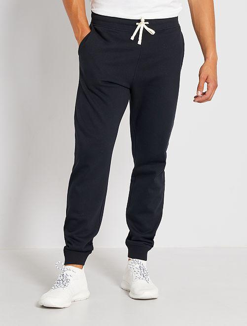 Pantaloni sport felpati                                                                 nero
