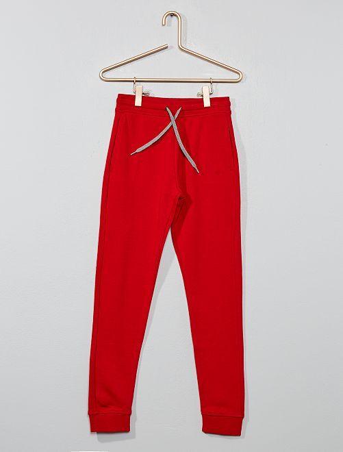 Pantaloni sport                                                                                                     ROSSO Infanzia bambino