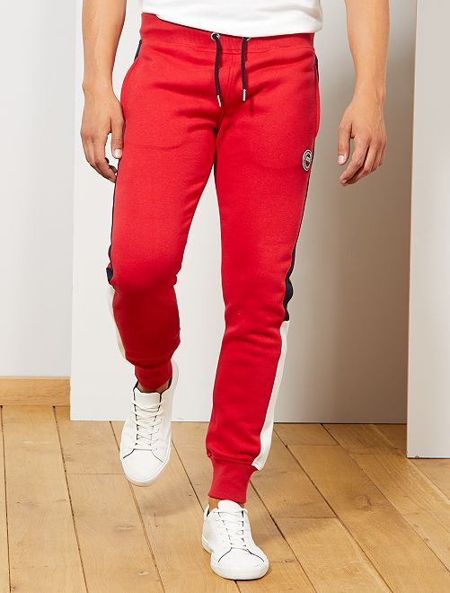 Pantaloni sport                     rosso