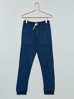 Pantaloni - Pantaloni sport tessuto felpato - Kiabi