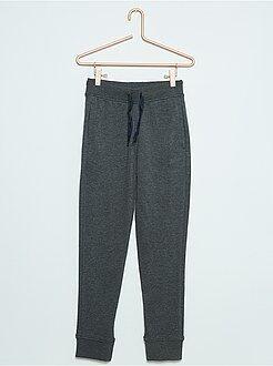 Pantaloni - Pantaloni sport tessuto felpato