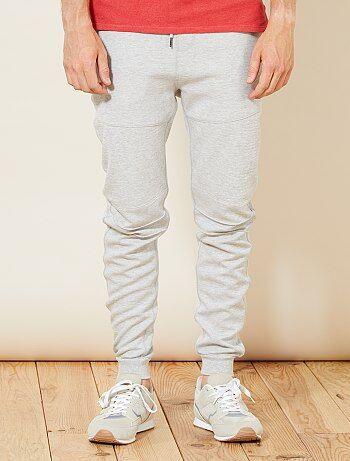 Pantaloni sport tessuto felpato leggero - Kiabi