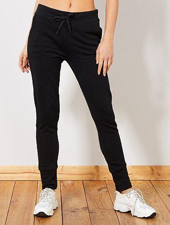 Donna dalla 38 alla 52 - Pantaloni sport tessuto felpato - Kiabi
