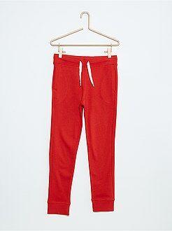 Pantaloni sport tessuto felpato