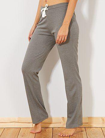638e0b5bcb4a Pantaloni sport tessuto felpato sottile - Kiabi