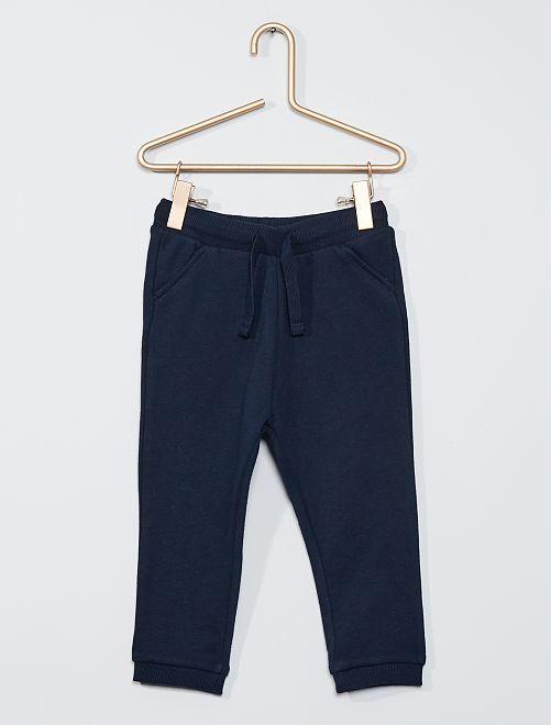 Pantaloni sportivi eco-sostenibili                                                     blu