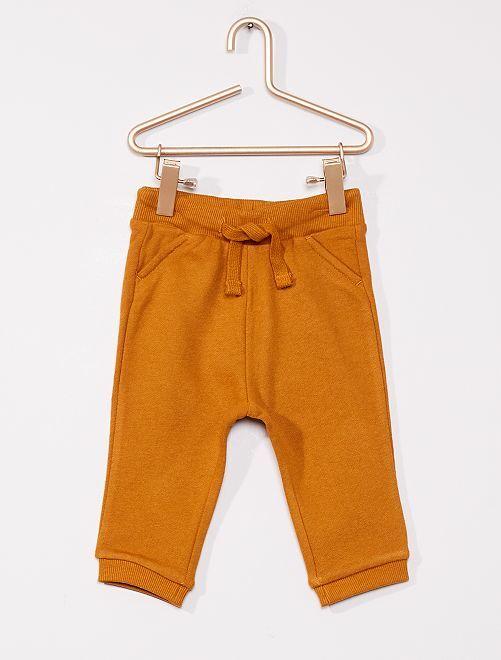 Pantaloni sportivi eco-sostenibili                                                                                         GIALLO