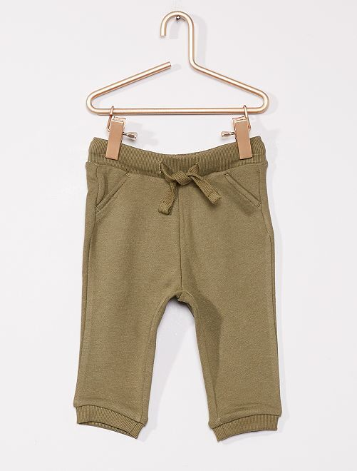 Pantaloni sportivi eco-sostenibili                                                                                         verde licheno