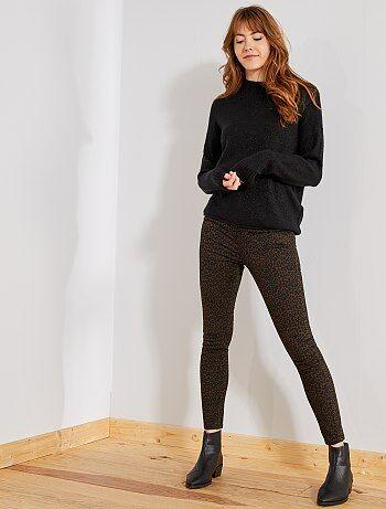 Pantaloni stampa leopardata - Kiabi