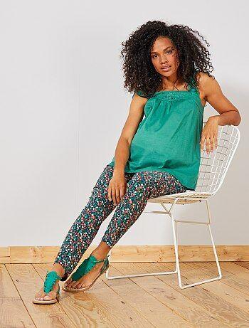 0e872d21e620 Pantaloni stampati premaman - Kiabi