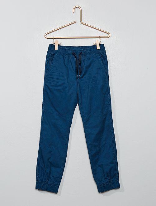 Pantaloni stile joggers                                                                             BLU
