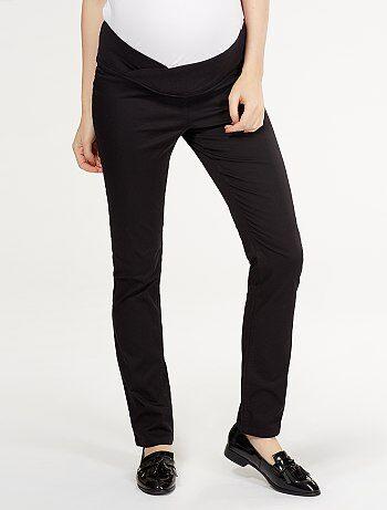 Pantaloni stretch vita bassa