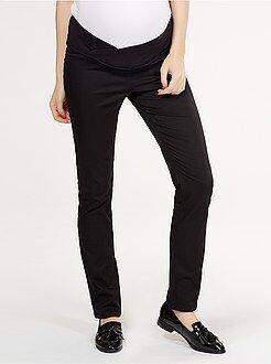 Pantaloni - Pantaloni stretch vita bassa