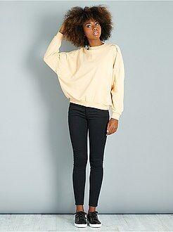 Pantaloni slim - Pantaloni super skinny effetto push up