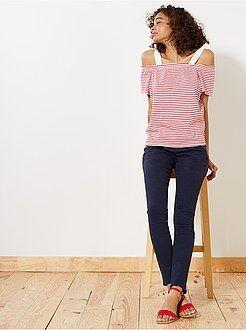 Pantaloni slim - Pantaloni taglio slim