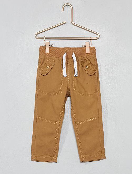 Pantaloni tasche abbottonate                                                                             BEIGE Neonato