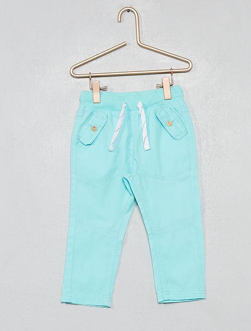 Pantaloni tasche abbottonate                                                                             BLU Neonato
