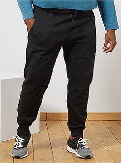 Pantaloni - Pantaloni tessuto felpato cuciture alle ginocchia