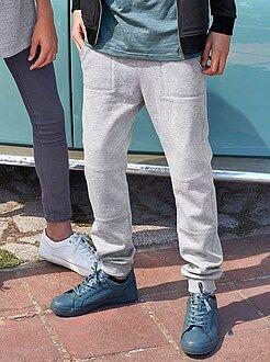 Pantaloni - Pantaloni tessuto felpato garzato