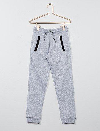 Pantaloni tuta felpati - Kiabi