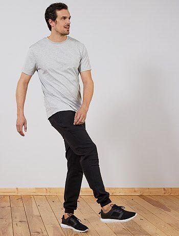 Pantaloni tuta L36 + 1 m 90 - Kiabi