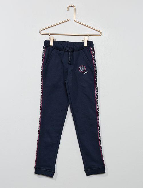 Pantaloni tuta puro cotone 'Minnie'                             BLU