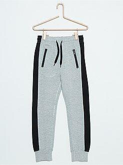 Pantaloni - Pantaloni tuta tessuto felpato