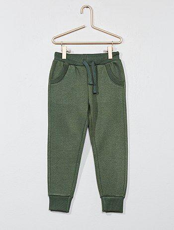 Pantaloni tuta tessuto felpato - Kiabi