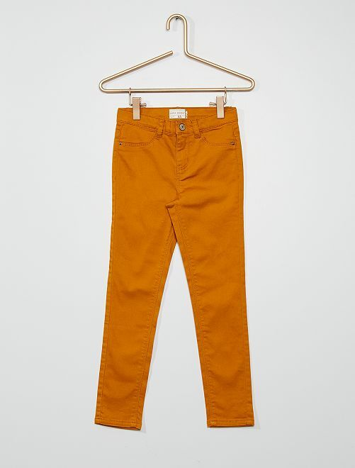 Pantaloni ultra skinny                                                                             GIALLO